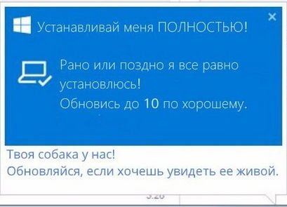Windows 10 юмор